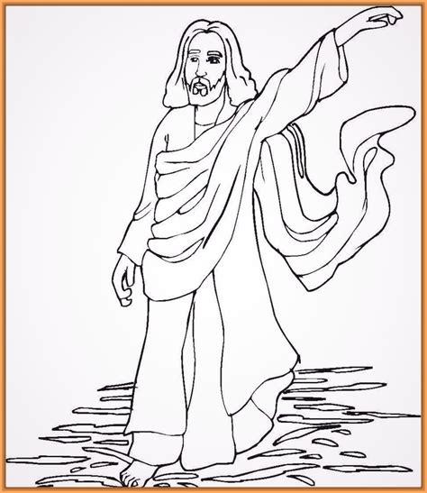 imagenes para colorear jesus y los niños dibujos para colorear de jesus resucitado para ni 241 os