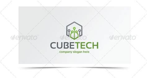 Paket Graphicriver cube tech logo design template vector logotype it here http graphicriver net item
