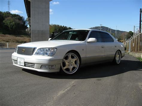 lexus ls400 vip white ucf20 wheels p1 mello s garage vip style cars