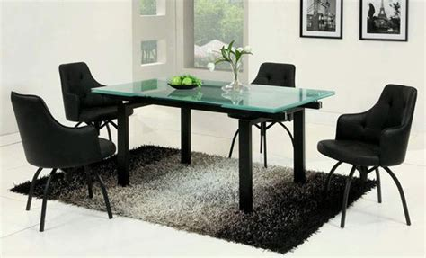 Frosted Glass Dining Tables Dining Table Extendable Dining Table Frosted Glass