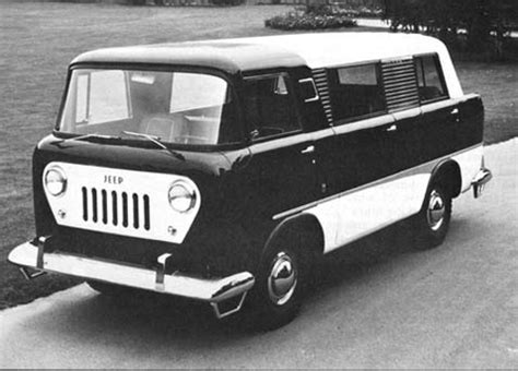 jeep forward control van did a ruthless conspiracy crush the forward control jeep van