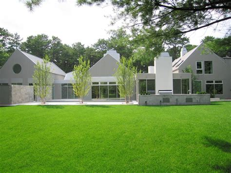 Modern Farm by See This House White On White In A Modern Hamptons