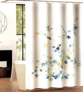 buy tahari luxury cotton blend shower curtain printemps