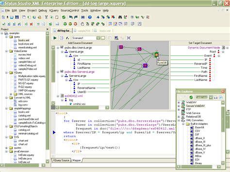 xml editor new features in stylus studio stylus studio stylus studio 2006 xml enterprise edition