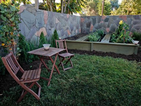 design a backyard small backyard landscape design hgtv