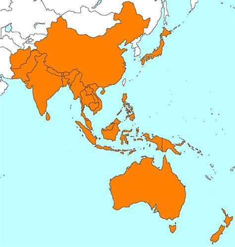 regional map of asia interactive malaria guide malaria information