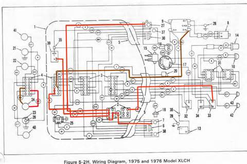 ironhead another minimalistic wiring diagram the sportster and buell motorcycle forum the
