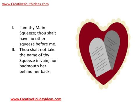 other names for valentines day youth ideas valentine s day ten commandments
