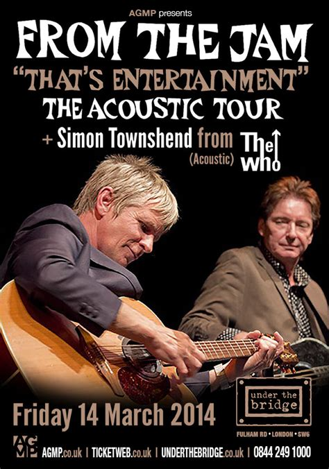 From The by From The Jam The Acoustic Tour The Bridge
