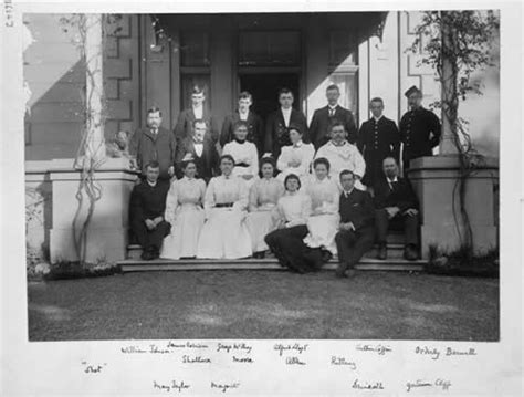 dog house auckland domestic staff government house auckland 1903 nzhistory new zealand history online