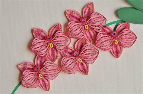 Paper Quilling - nhipaperquilling 12 paper quilling orchid