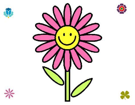 disegni di fiori da stare e colorare disegni di fiori da stare disegno margherita colorato da