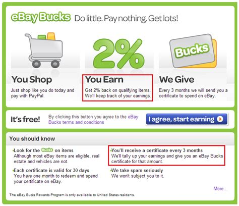 ebay bucks get 8 cash back on every ebay item you buy