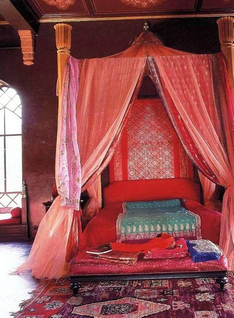 exotic canopy beds i want to go to morocco charmedseed
