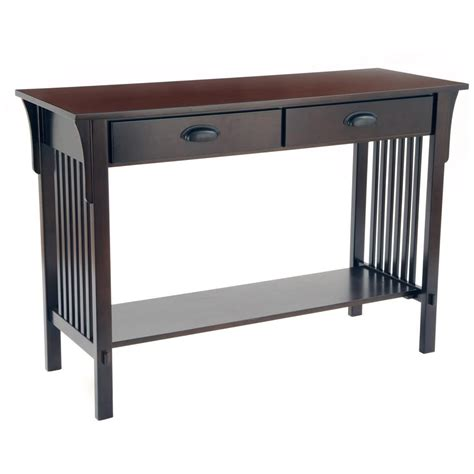 mission console table mission console table 236464 living room at sportsman s