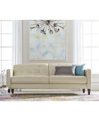milan leather sofa macys milan leather sofa living room furniture collection
