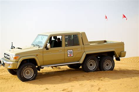 Toyota 6x6 Is This Toyota Land Cruiser 6x6 The Best Roader Out There