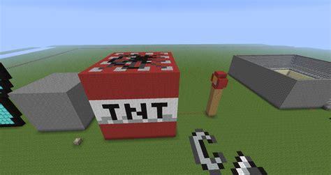 tnt block pixel art minecraft project