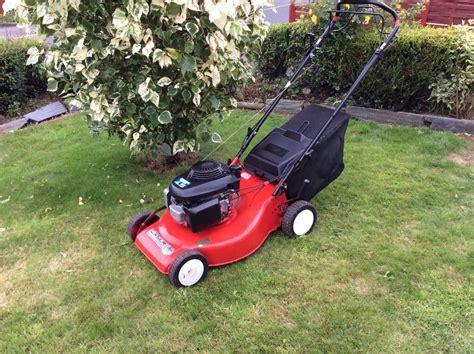 mountfield petrol lawnmower honda gcv  engine  cut  drive  clean machine