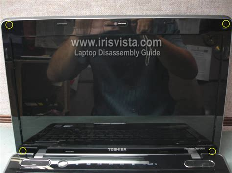 Fleksibel Lcd Toshiba Satellite M500 toshiba satellite m505 m505d m500 m500d screen removal