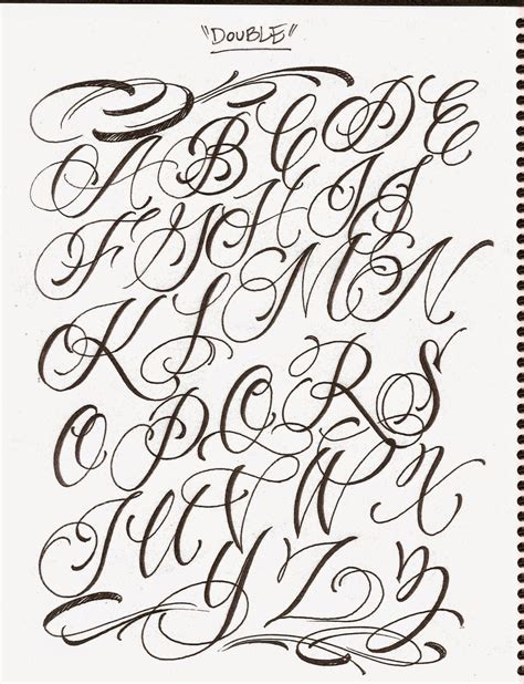 tattoo fonts style lettering cursive styles and make your tattoos