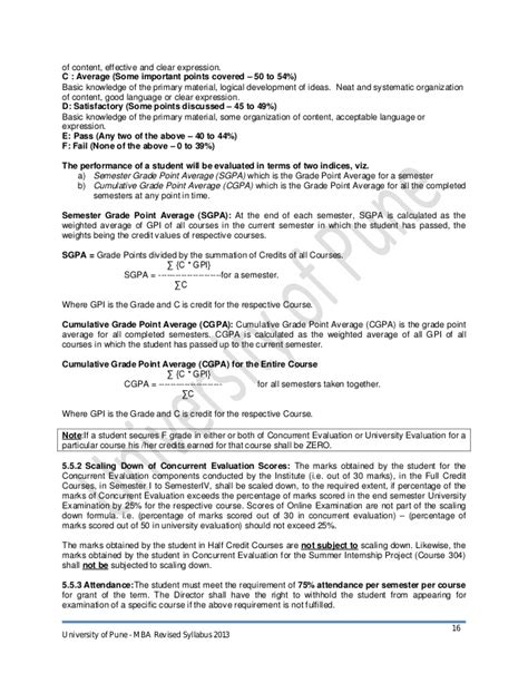 Uop Mba Syllabus 2013 by Mba Syllabus 2013 Cbcgs Pattern Final