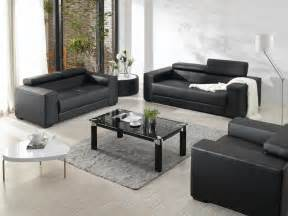 rug with black furniture modern black leather furniture set simple square glass