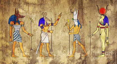 egyptian religious art