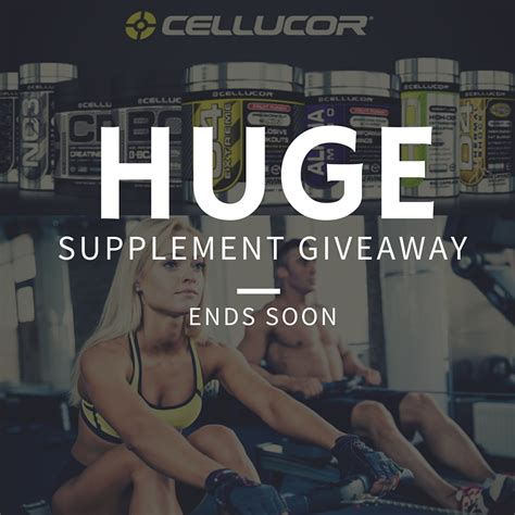Supplement Giveaways - cellucor quest nutrition supplement giveaway the healthy gamer