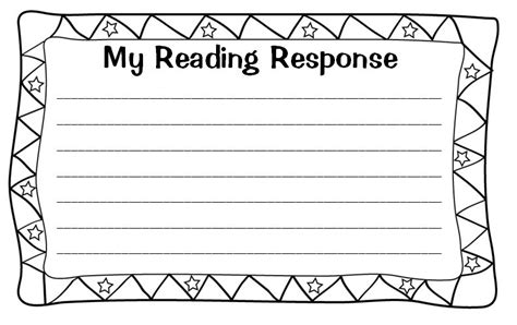Student Response Cards Template by All In One Guided Reading Tool Kit Scholastic