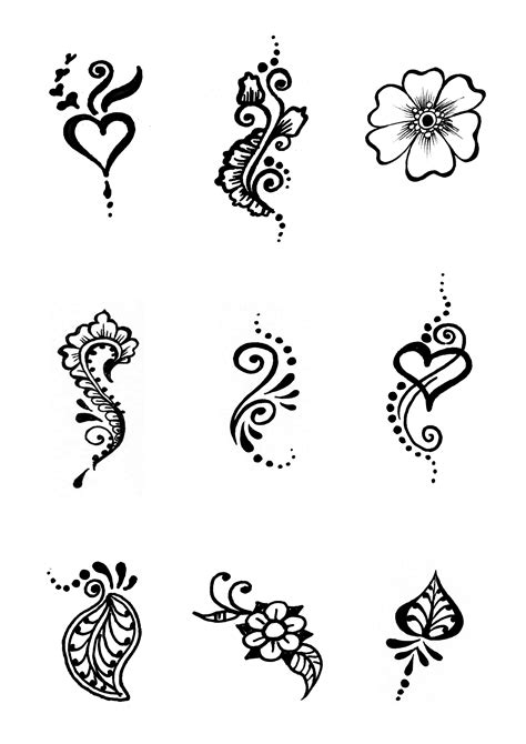 free tattoo designs to print out free henna designs for personal use print this page out to