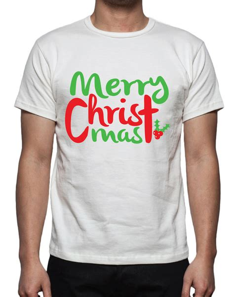 merry christmas tee shirt design svg dxf eps vector files etsy