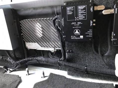 gmc sierra  focal  speakers focal amplifers jl audio subwoofers explicit