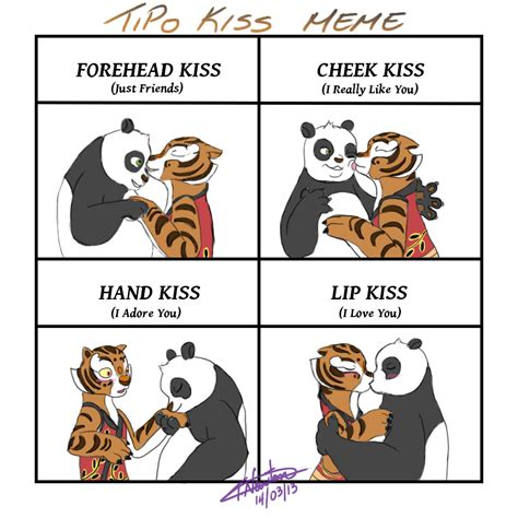 Sex Panda Meme - kiss meme kfp tigress po by kreazea on deviantart