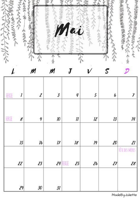 Calendrier Mai 2015 Calendrier Mai 2017 224 Imprimer Calendrierspdf