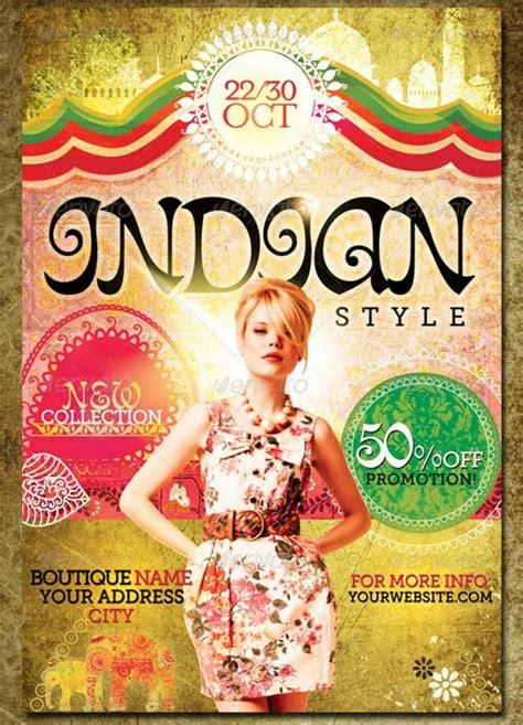 Flyer Design Online India | flyer templates graphicriver indian style flyer template