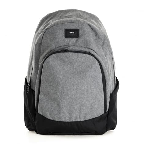 Jaket Vans Bb Blackgrey vans doren original backpack grey black mens from loofes uk