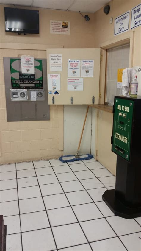 24 Hour Laundry Mat Near Me by Attendant Counter Change Machines 10 20 Into 5 S