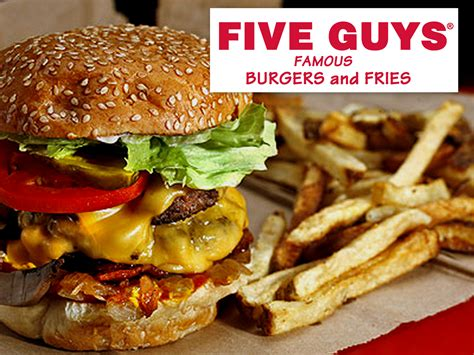 five guys five guys burgers www imgkid the image kid has it