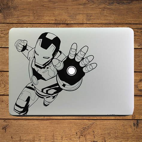 Sticker Macbook Pro And Air Usmc Marine Corps Rina Shop ᓂiron superheros laptop decal decal for apple