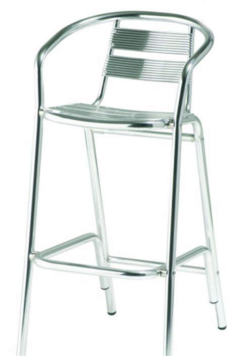Tabouret De Bar Aluminium by 91 00 Ht
