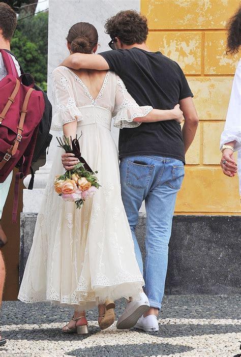 anna wintours daughter bee shaffer weds francesco