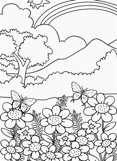 coloring pages nature get this nature coloring pages online printable nhywg