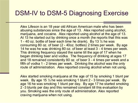 Dsm 5 Section 3 by Diagnosing With The Dsm 5