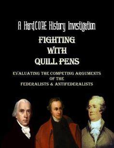 Debate Common Vs Classic by Federalist Vs Anti Federalists U S History