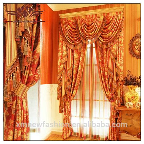 volant vorhang european curtains luxury and classic curtains valance