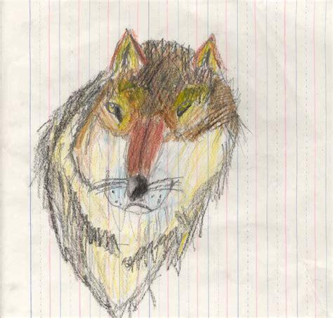 Drawing 9 Year by Boy Wolf