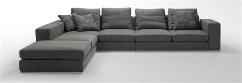 Appealing L Shaped Sofa Come With Grey Modern Comfy Fabric Modern L Shaped Sofa