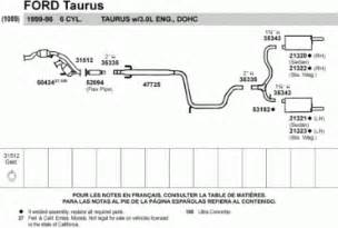 Ford Taurus Exhaust System Diagram 2006 Ford Taurus Exhaust Diagram Wedocable