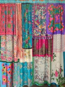 springtime in bohemian curtains